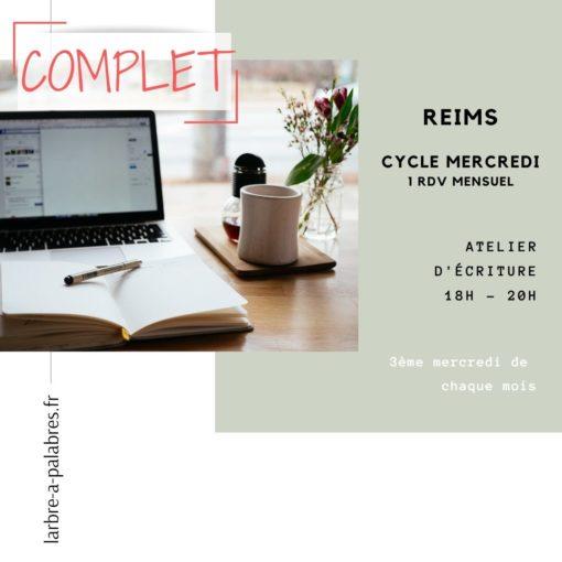 reims cycle écriture mercredi