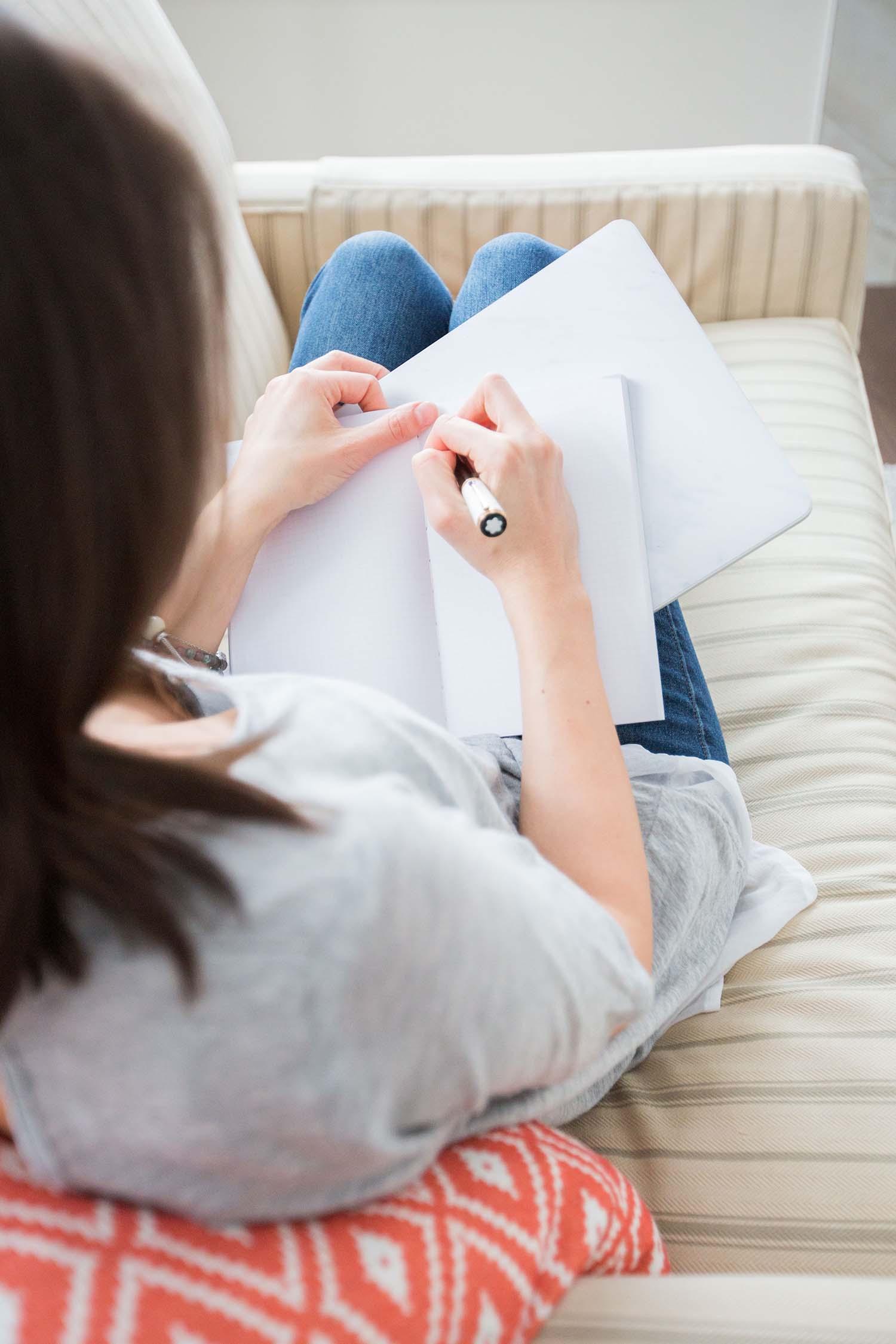 Formulaire pour télécharger le guide d'écriture